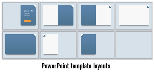 Articulate Rapid E-Learning Blog - eight layouts in the free PowerPoint template