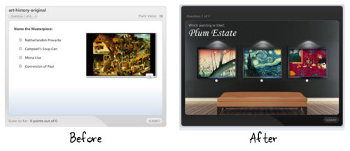 The Rapid E-Learning Blog - backgrounds can make your elearning course look better