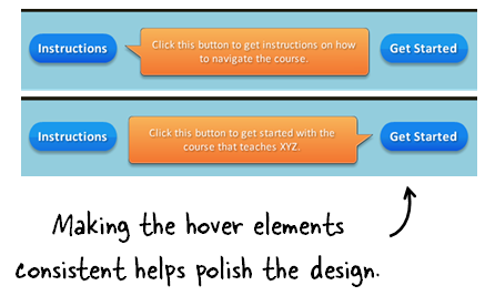 Articulate Rapid E-Learning Blog - create consistent design elements in course design