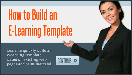 Articulate Rapid E-learning Blog - how to build an elearning template
