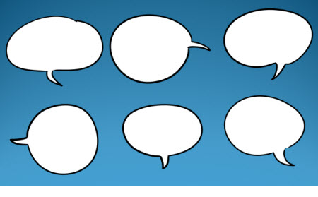 The Rapid E-Learning Blog - free speech bubbles