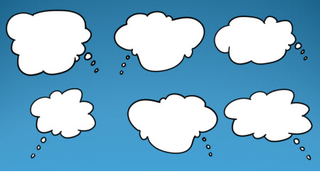The Rapid E-Learning Blog - free thought clouds with tails