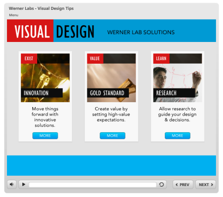 Articulate Rapid E-Learning Blog - visual and graphic design tips for elearning