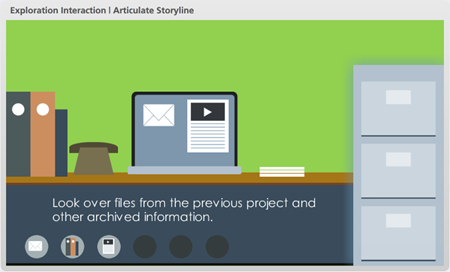 here's a free powerpoint template  elearning interaction  the, Powerpoint