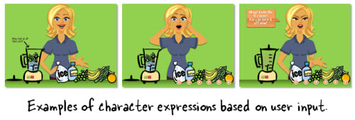 The Rapid E-Learning Blog - characters allow for interactive elearning feedback