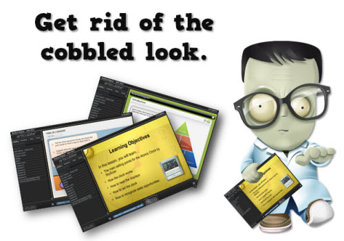 Articulate Rapid E-Learning Blog - get rid of the cobbled look