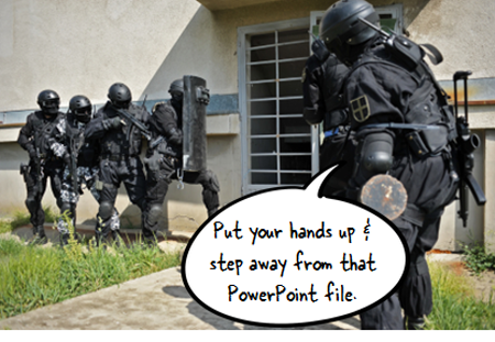 The Rapid E-Learning Blog - step away from the PowerPoint slide