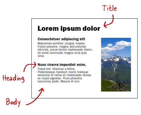 Articulate Rapid E-Learning Blog - create a simple font pairing template for your online courses