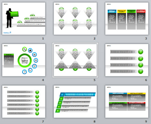 5 free powerpoint e-learning templates | the rapid e-learning blog, Modern powerpoint