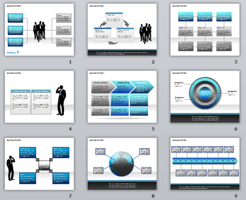 5 free powerpoint e learning templates the rapid e learning blog articulate rapid e learning blog free powerpoint template for business strategy and charts toneelgroepblik Choice Image