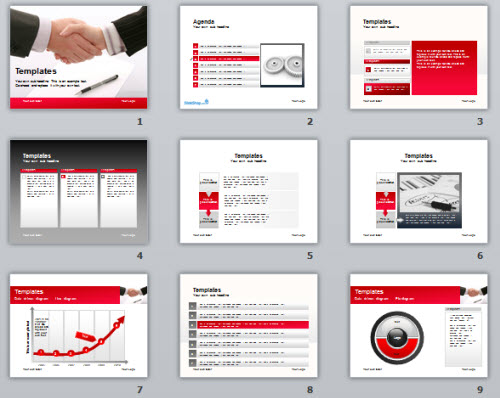 Articulate Rapid E-Learning Blog - free PowerPoint template for business courses