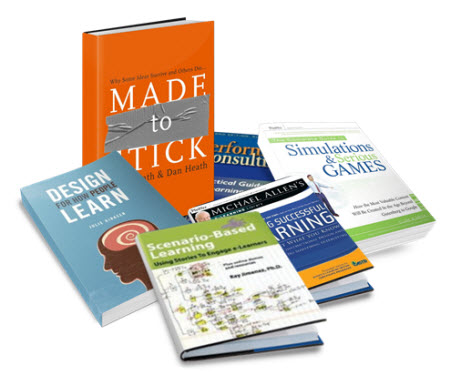 Articulate Rapid E-Learning Blog - list of recommended books to learn more about interactive and engaging elearning