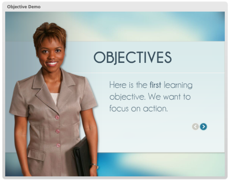 Articulate Rapid E-Learning  Blog - how to create progressive reveal objectives for online training programs