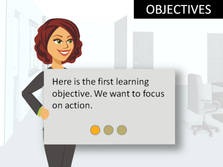 Articulate Rapid E-Learning Blog - free PowerPoint template for rapid elearning courses