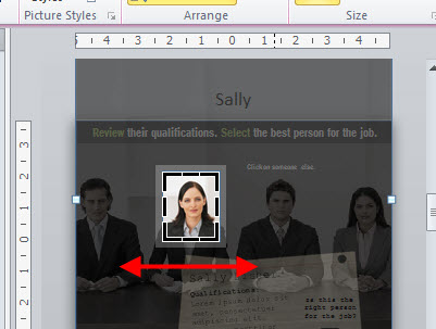 Articulate Rapid E-Learning Blog - use the cropping feature in PowerPoint