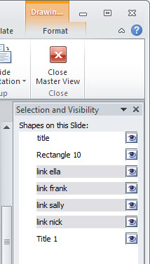 Articulate Rapid E-Learning Blog - create shapes for hyperlinks in PowerPoint