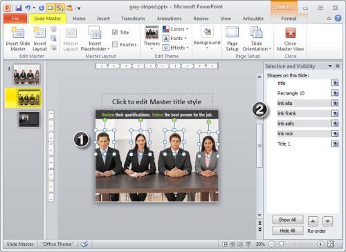 Articulate Rapid E-Learning Blog - hyperlinks on the master slide in PowerPoint