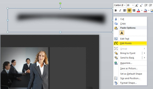 Articulate Rapid E-Learning Blog - how to create a custom drop shadow in PowerPoint
