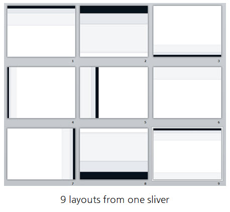 Articulate Rapid E-Learning Blog - various layouts for the elearning template in PowerPoint