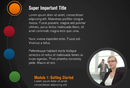Speed up your interactive e learning with these free powerpoint articulate rapid e learning blog example of a tabs interaction and free powerpoint template toneelgroepblik Gallery