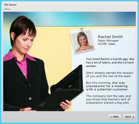 Articulate Rapid E-learning Blog - elearning course sample