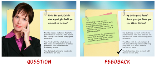 Articulate Rapid E-learning Blog - example of free elearning template and e-learning samples
