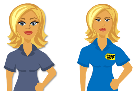 Articulate Rapid E-Learning Blog - how to create characters customize Articulate characters
