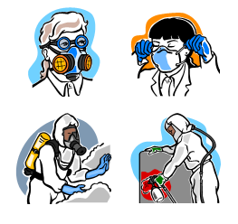 Respiratory Training Program Clip Art