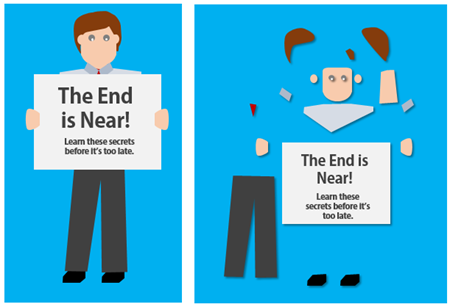 Articulate Rapid E-Learning Blog - how to create characters using flat characters in PowerPoint