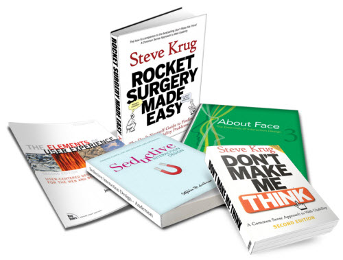 Articulate Rapid E-Learning Blog - recommended books on user experience design