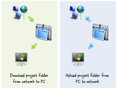 Articulate Rapid E-Learning Blog - move files from the local desktop drive to your network drive