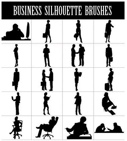 The Rapid E-Learning Blog - example of silhouette images