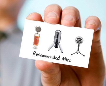 Articulate Rapid E-Learning Blog - microphones for rapid elearning courses
