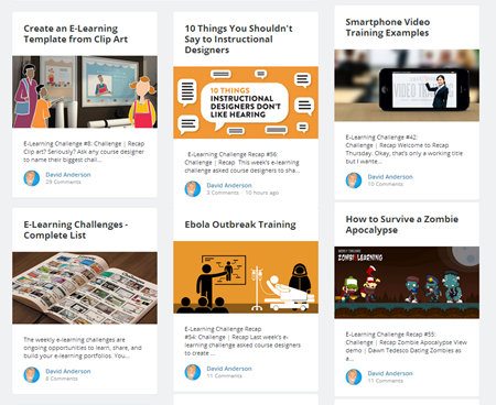 Articulate Rapid E-Learning Blog - how to become an elearning pro by doing the weekly challenge