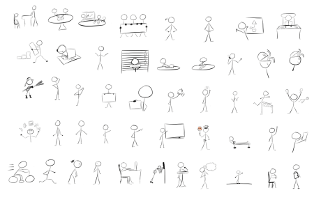 Articulate Rapid E-Learning Blog - examples of free hand-drawn graphics