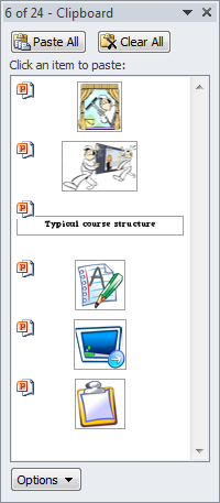 Articulate Rapid E-Learning Blog - PowerPoint clipboard details