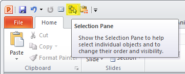 Articulate Rapid E-Learning Blog - PowerPoint selection pane