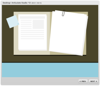 Articulate Rapid E-Learning Blog - free elearning template 6