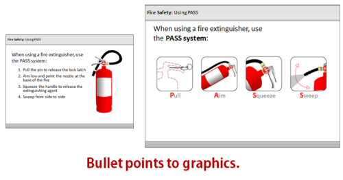 Articulate Rapid E-Learning Blog - convert bullet points to graphics and thumbnail images