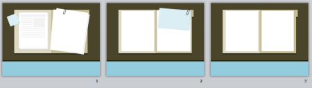Articulate Rapid E-Learning Blog - example of flat UI free template in PowerPoint