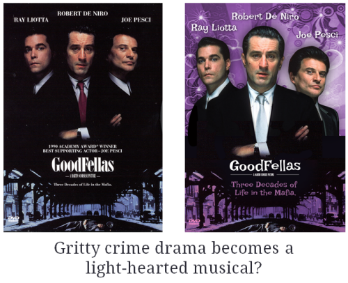Articulate Rapid E-Learning Blog - goodfellas makeover using colors and background elearning example