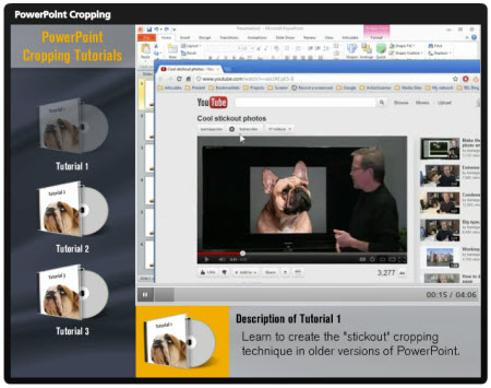 Articulate Rapid E-learning Blog - learn how to crop images in PowerPoint