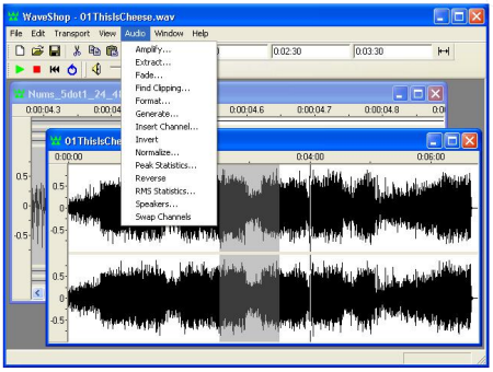 Articulate Rapid E-Learning Blog - WaveShop a free audio editor