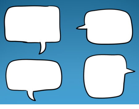 The Rapid E-Learning Blog - free speech squared speech bubbles