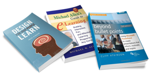 The Rapid E-Learning Blog - recommended books for gettign started in elearning