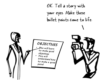 Articulate Rapid E-Learning Blog - create interactive stories with simple pictures and comic-book like panels