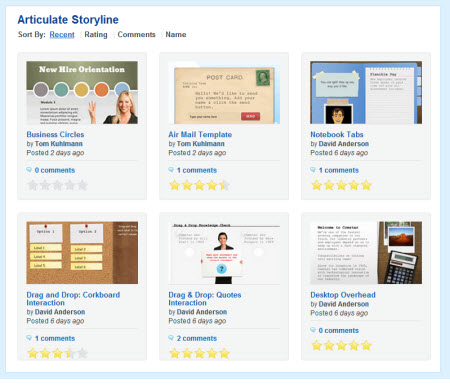 The Rapid E-Learning Blog - free interactive elearning templates & PowerPoint templates