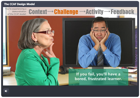 Articulate Rapid E-Learning Blog - example of elearning theory
