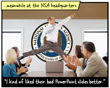 Articulate Rapid E-Learning Blog - Government creates bad PowerPoint via Edward Tufte