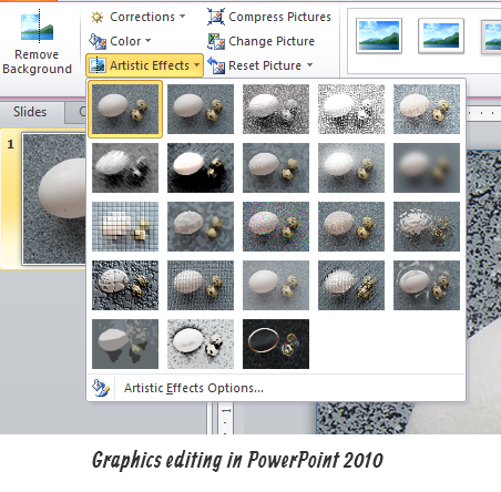 The Rapid E-Learning Blog - PowerPoint 2010 makes images editing easy with the new features